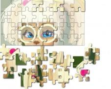 Игра Барбоскины: пазл с Розой онлайн
