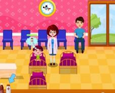 Игра Детский врач онлайн