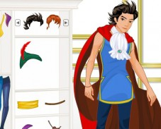 Игра Одеваем принца онлайн