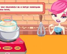 Игра Приготовление шоколадных конфет онлайн
