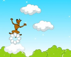 Игра Прыжки в облаках онлайн