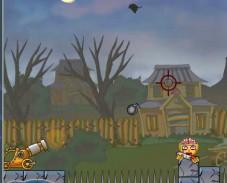 Игра Роли Поли Пушка: кровавые монстры онлайн