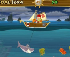 Игра Рыбалка в открытом море онлайн