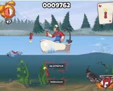 Игра Рыбалка динамитом онлайн