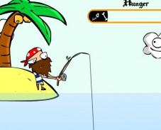 Игра Рыбалка на острове онлайн