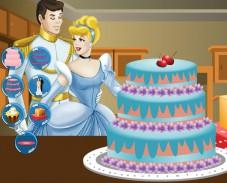 Игра Свадебный торт для Золушки онлайн