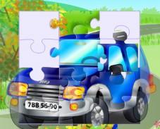 Игра Синяя машинка онлайн