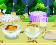 Игра Сумасшедший день рождения: приготовление торта онлайн