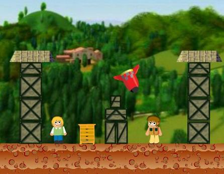 Игра Уничтожь деревню онлайн