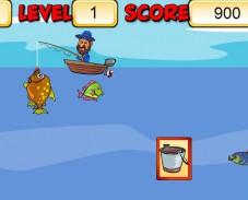 Игра Фредди на рыбалке онлайн