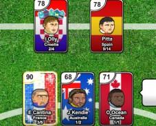 Игра Футбольные карты онлайн