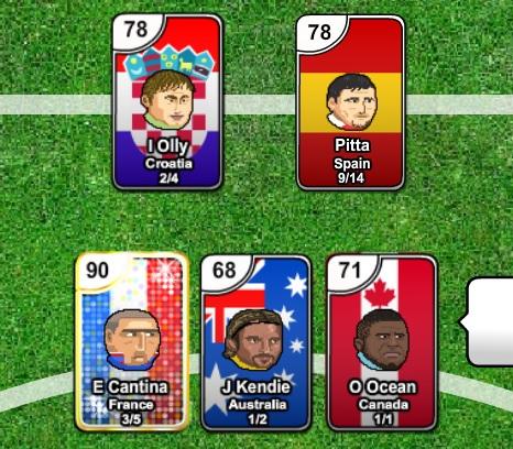 играть как карты футбол