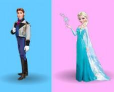 Игра Холодное сердце: цветная память онлайн