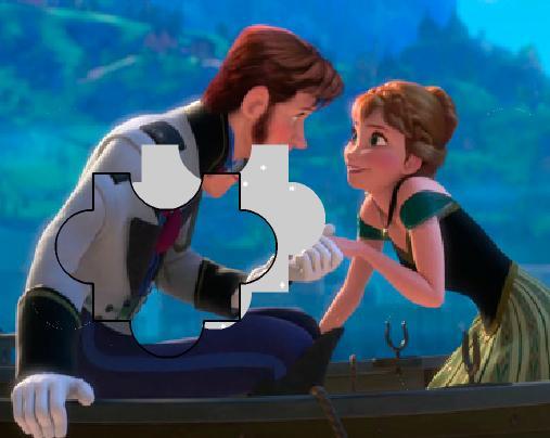 Игра Холодное сердце: Анна и Ханс пазл онлайн