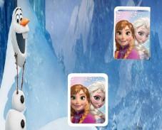 Игра Холодное сердце: запоминать картинки онлайн