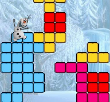 Игра Холодное сердце: тетрис с Анной онлайн