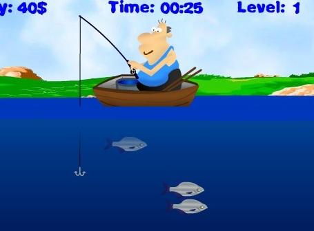 Играть в игру рыбак