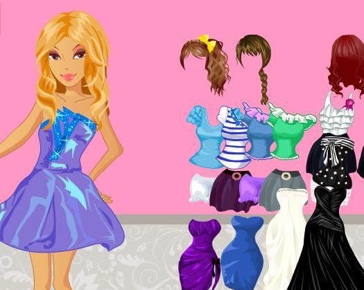 Игра Sparkle Prom Dresses онлайн