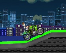 Игра Бен 10 на квадроцикле онлайн