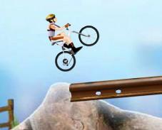 Игра Велосипед в горах онлайн
