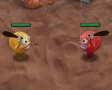 Игра Война смайликов онлайн