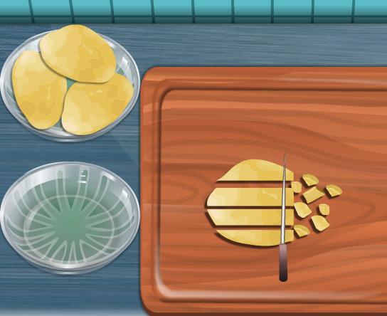 Игра Готовим картофельный суп онлайн