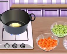 Игра Готовим куриный суп онлайн