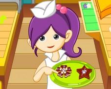 Игра Делаем печенье онлайн
