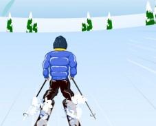 Игра Катание на лыжах онлайн
