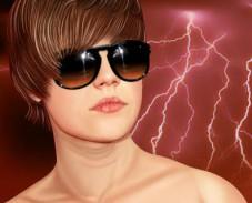 Игра Макияж Джастина Бибера онлайн