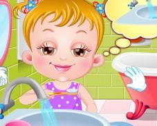 Игра Малышка Хейзел время для сна онлайн