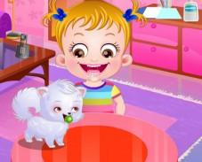 Игра Малышка Хейзел: зимнее веселье онлайн