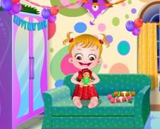 Игра Малышка Хейзел Новый год онлайн