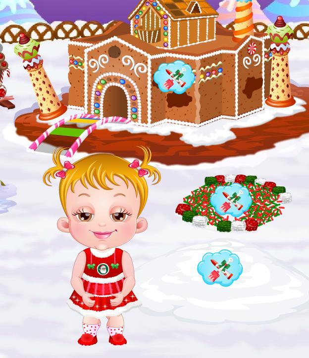 Игра Малышка Хейзел: пряничный домик онлайн