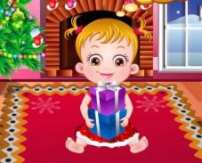 Игра Малышка Хейзел — Рождественское время онлайн