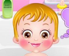 Игра Малышка Хейзел уход за кожей онлайн