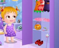 Игра Малышка Хейзел Хэллоуин онлайн