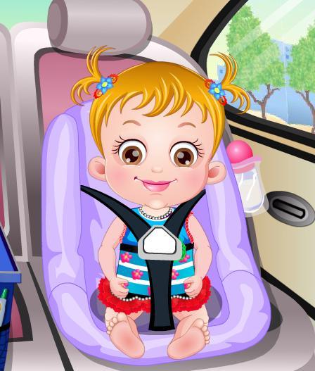 Игра Малышка Хейзел в гостях онлайн