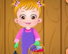 Игра Малышка Хейзел в cаду онлайн