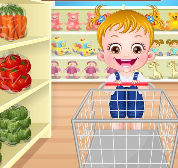 Игра Малышка Хейзел готовит онлайн