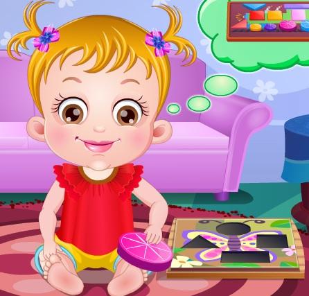 Игра Малышка Хейзел: изучаем фигуры онлайн
