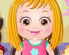Игра Малышка Хейзел прическа онлайн