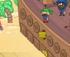 Игра Пираты Карибского моря: защити корабль онлайн
