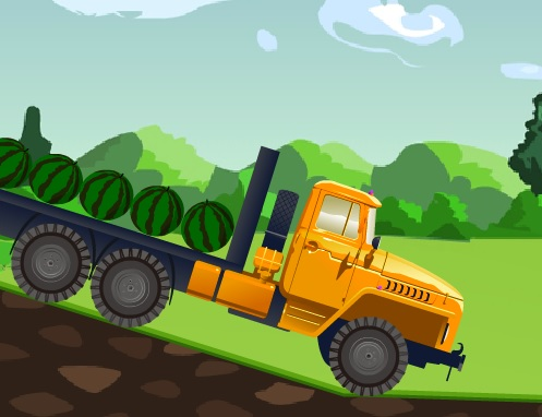 Игра Сумасшедший грузовик онлайн