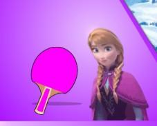 Игра Холодное сердце: Анна и Кристофф играют в теннис онлайн
