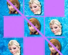 Игра Холодное сердце: крестики-нолики онлайн