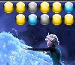 Игра Холодное сердце: Эльза и шарики онлайн