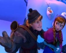 Игра Холодное сердце Анна, Кристофф и Олаф пазл онлайн