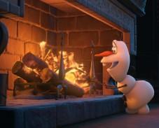 Игра Холодное сердце: Олаф у камина пазл онлайн