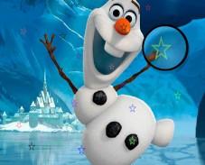 Игра Холодное сердце: ищи звезды с Олафом онлайн